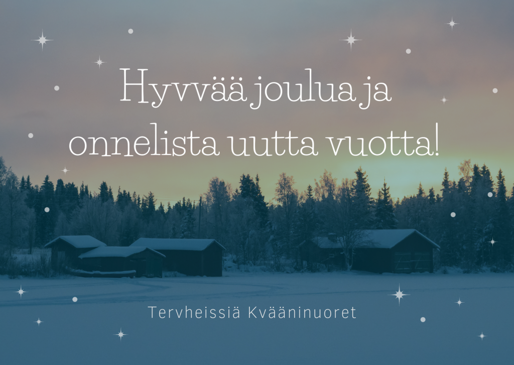 God jul fra Kvääninuoret